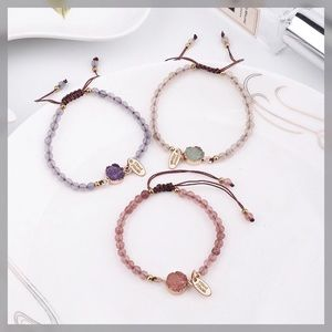 Jewelry - Set of 3 Druzy and Beads Bracelets ✨